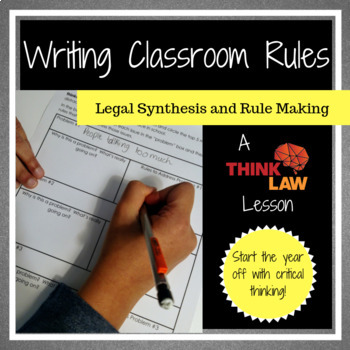Writing Classroom Rules with Your Students Using Critical Thinking