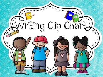 Writing Clip Chart