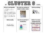 Literacy Continuum - Writing Cluster Posters