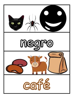 Writing Colors in Spanish