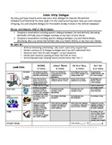 Writing Comic Dialogue: ELA Common Core Synthesis, Includes Rubric