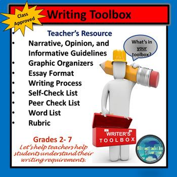 Writing TEACHING Toolbox for Teachers