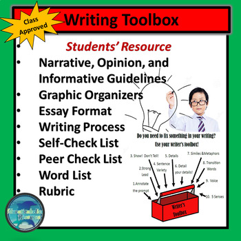 Writing Toolbox for Students