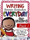 Handwriting & Writing Practice - Pack 1