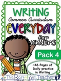 Handwriting & Writing Practice - Pack 4
