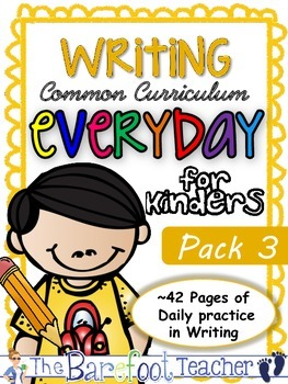 Handwriting & Writing Practice - Pack 3