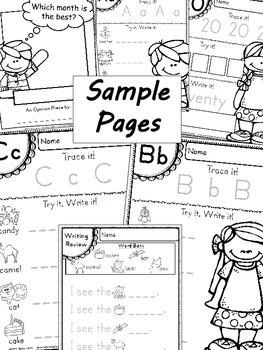 Handwriting & Writing Practice - Pack 5