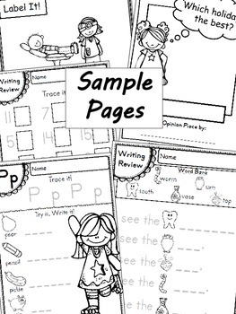Handwriting & Writing Practice - Pack 6