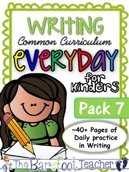 Handwriting & Writing Practice - Pack 7