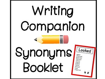 Writing Companion: Synonym Booklet