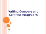 Writing Compare and Contrast Paragraphs