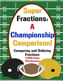 Writing, Comparing and Ordering Fractions - Super Bowl Style!