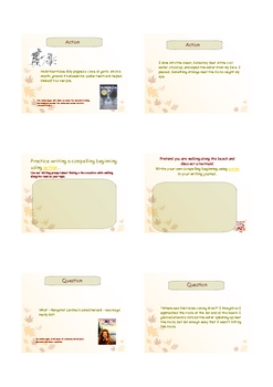 Writing - Compelling Beginnings - Opening Paragraphs