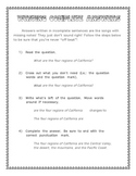 Writing Complete Answers: Turning Questions into Statements