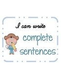Writing Complete Sentences: Subject, Predicate, Sentence, & Fragment