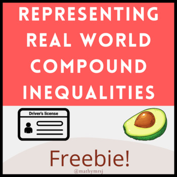 Writing Complex One Variable Inequalities