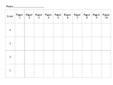 Writing Composition Score Tracker