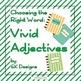 Writing Composition Word Choice Bundle Nouns, Verbs, Adjectives, Adverbs