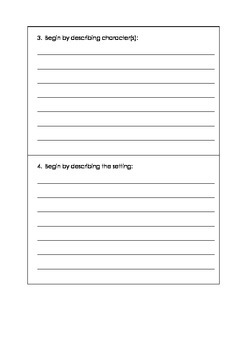 Writing Composition: Ways To Begin A Story