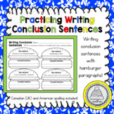 Writing Conclusion Sentences/Conclusion Sentences in the P