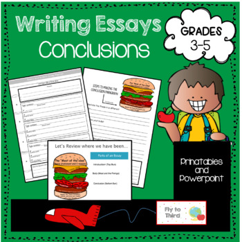 writing conclusions to essays Tip sheet writing introductions & conclusions even when you know everything about your paper's topic, it's hard to know how to create a hook that makes a reader want to read it.