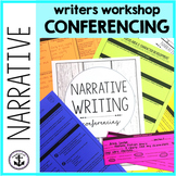 Writing Conference Binder for Middle School-Narrative