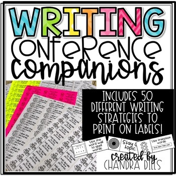 Writing Conference Companions-Printable Strategies