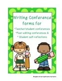 Writing Process: Edit Conference Forms