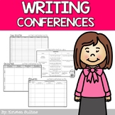 Writing Conference Forms for Teachers PDF & Editable