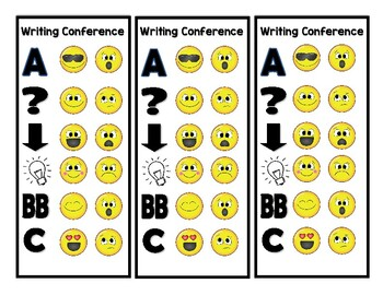 Writing Conference Forms - Primary (Printable)