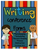 Writing Conference Forms for Notekeeping,Scheduling, and much more!