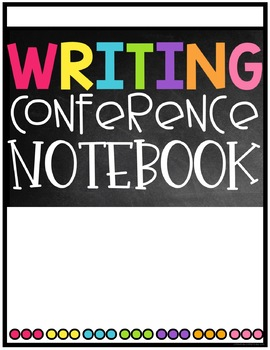 Writing Conference/Guided Writing Binder