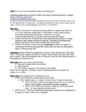 Writing Conference Lesson Plan with Reflection Packet