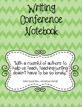Writing Conference Notebook