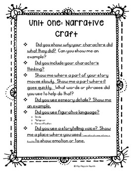 Writing Conference Prompts