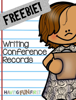 writing conference records by having fun first tpt