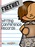 Writing Conference Records FREE