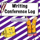 Writing Conference with Students Recording Form