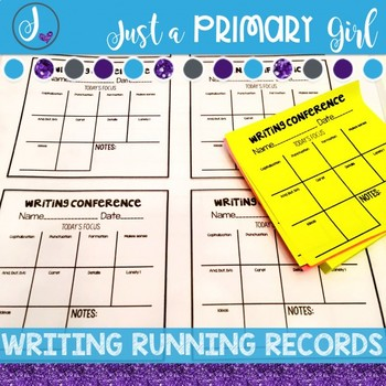 ~*Writing Conferences Checklist
