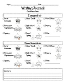 Writing Conferencing Form