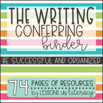 Writing Conferring Binder