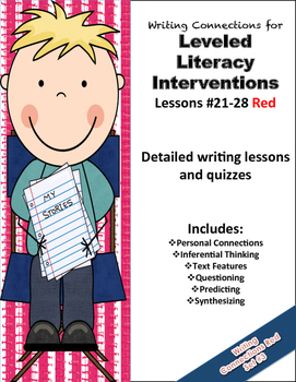 Writing Connections for Red LLI  #21-28