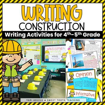 Writing Construction Activities