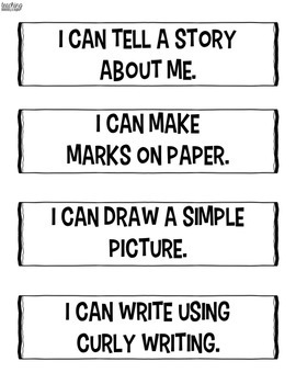 Writing Continuum Learning Goals