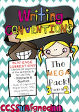 Writing Conventions - Sentence Corrections MEGA Pack!! (CC
