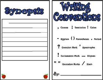 Writing Conventions Booklet