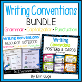 Writing Conventions Bundle: Grammar, Capitalization, Punctuation