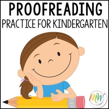 Proofreading Practice for Kindergarten
