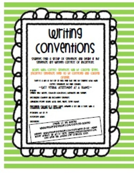 Writing Conventions Review