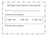 Writing Conventions - Six Traits